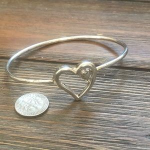 """Jewelry - Sterling silver 925 """"Loving hearts"""" bracelet"""